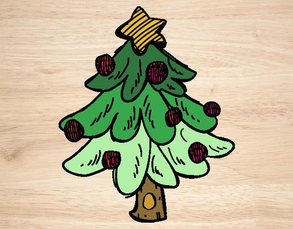 Imagenes Animadas De Arboles De Mango: Dibujos De Rbol De Navidad. Sencillo Rbol Navidad With