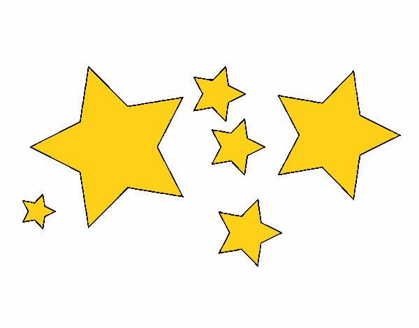 Dibujo De 6 Estrellas Pintado Por Nairim1924 En Dibujos