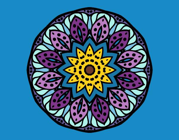 Dibujo de Mandala naturaleza pintado por Camandala en Dibujosnet