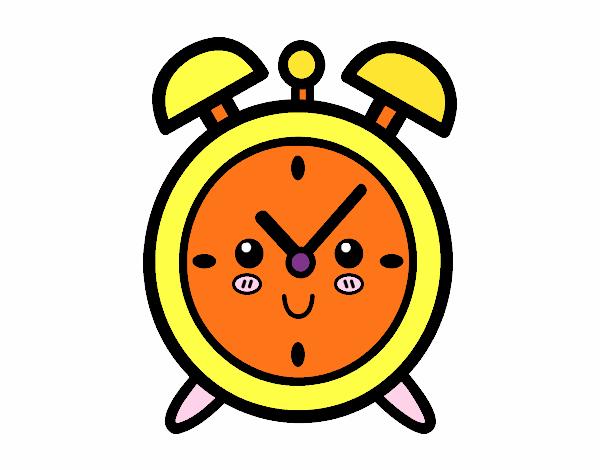 Reloj dibujo cool reloj dibujo fabulous reloj del nmero - Reloj pintado en la pared ...