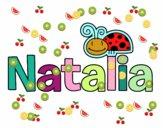 Dibujo Natalia pintado por natismar