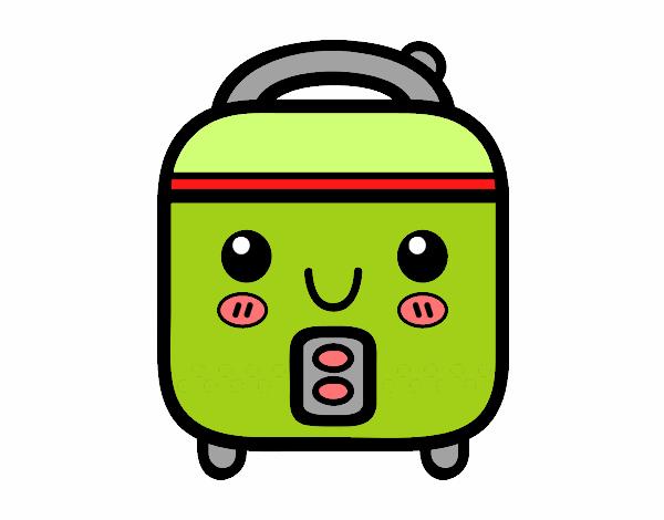 Dibujo de robot de cocina pintado por bombonz en dibujos for Robot de cocina la razon