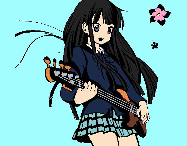Dibujo Akiyama pintado por MariamAmin