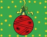 Dibujo Una bola de Navidad pintado por  janm