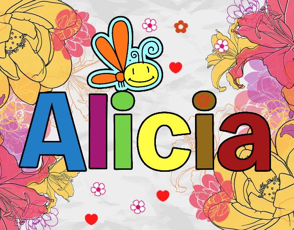 Dibujos Para Colorear Alicia 16: Dibujo De Alicia Pintado Por En Dibujos.net El Día 23-01