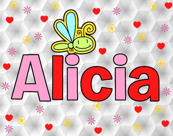 Dibujos Para Colorear Alicia 16: Dibujo De Alicia Pintado Por 3lsa En Dibujos.net El Día 26