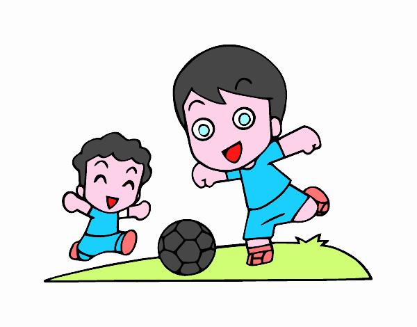 Dibujo De Fútbol Pintado Por Fustapa13 En Dibujos Net El: Dibujo De Fútbol En El Recreo Pintado Por Alalalal15 En