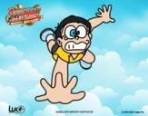 Dibujo Nobita cayéndose pintado por Osobal