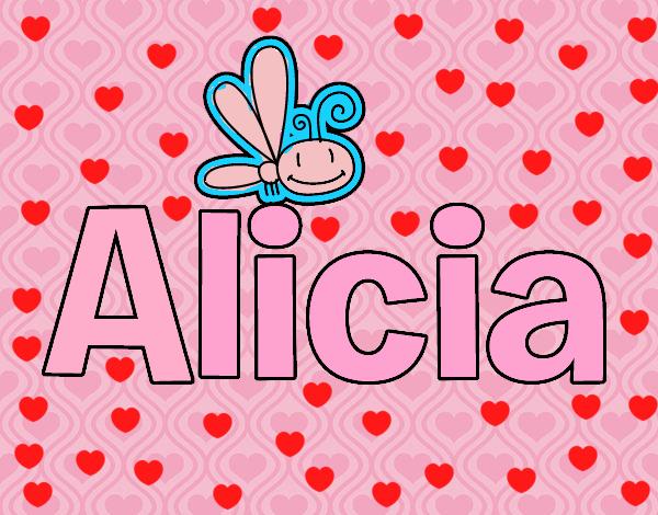 Dibujos Para Colorear Alicia 16: Dibujo De Alicia Pintado Por En Dibujos.net El Día 08-02