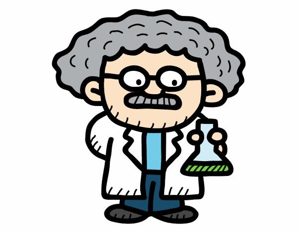 Dibujo De Maestro En Ciencias Pintado Por En Dibujos.net