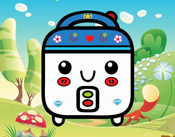 Dibujo de robot de cocina pintado por owensimm en dibujos for Robot de cocina la razon