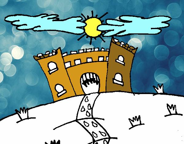 Dibujo De Castillo Maléfico Pintado Por En Dibujos.net El