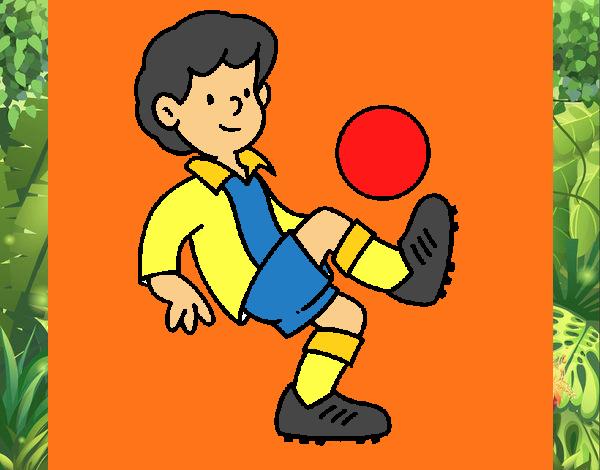 Dibujo De Futbol Pintado Por Maarta En Dibujos Net El Día: Dibujo De Fútbol Pintado Por En Dibujos.net El Día 08-03
