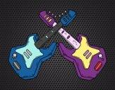 Dibujo Guitarras eléctricas pintado por dallana-12
