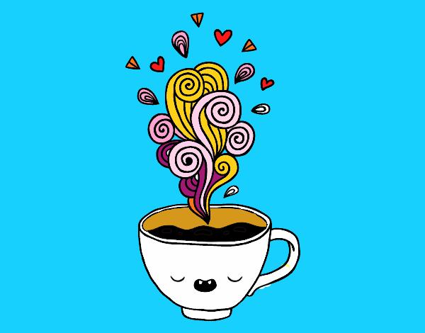 Dibujos de cafe related keywords suggestions dibujos - Tazas de cafe originales ...