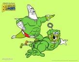 Bob Esponja - Sr Súper Dúper y burbuja invencible