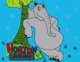 Dibujo Horton pintado por linda423