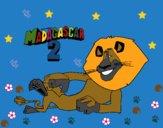 Dibujo Madagascar 2 Alex 3 pintado por linda423