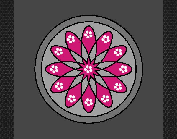34 Mandalas Para Imprimir Y Colorear: Dibujo De Mandala 34 Pintado Por En Dibujos.net El Día 30