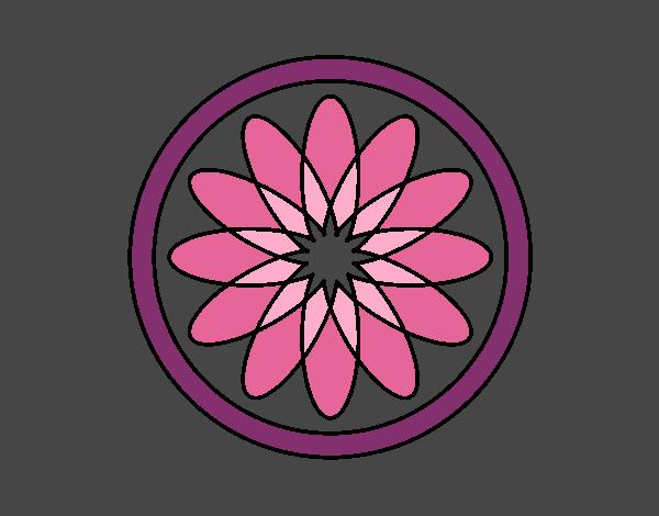 34 Mandalas Para Imprimir Y Colorear: Dibujo De Mandala 34 Pintado Por En Dibujos.net El Día 31
