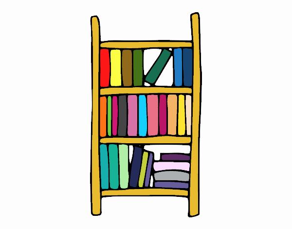 Dibujo de estanter a pintado por en el d a 04 - Dibujos de estanterias ...