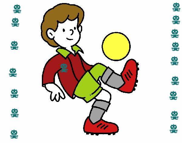 Dibujo De Fútbol Pintado Por Fustapa13 En Dibujos Net El: Dibujo De Fútbol Pintado Por En Dibujos.net El Día 08-04