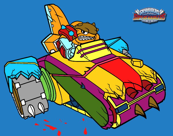 shark shooter terrafin coloring pages - photo#8