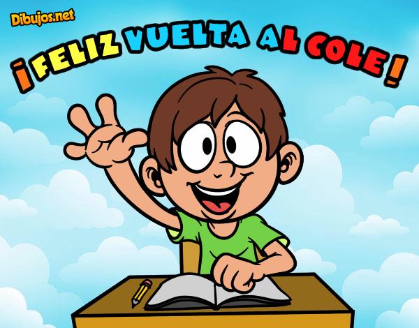 Colorear Vuelta Al Cole 15: Dibujo De El Cole YUPIIII Pintado Por En Dibujos.net El