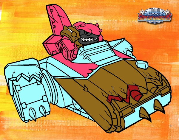 shark shooter terrafin coloring pages - photo#5