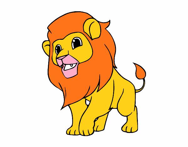 Dibujo De El Rey Leon Pintado Por En Dibujos.net El Día 24