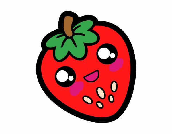 fresa kawaii