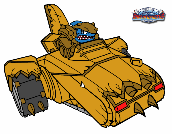 shark shooter terrafin coloring pages - photo#9