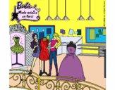 Barbie en la tienda
