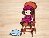 Muñeca sentada