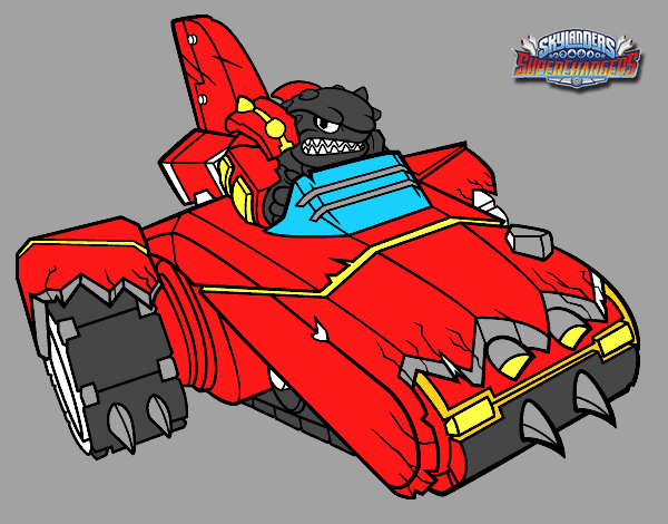 shark shooter terrafin coloring pages - photo#16