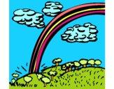 Dibujo Arco Iris pintado por Gloriana
