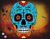 Dibujo Calavera mejicana pintado por cecil13