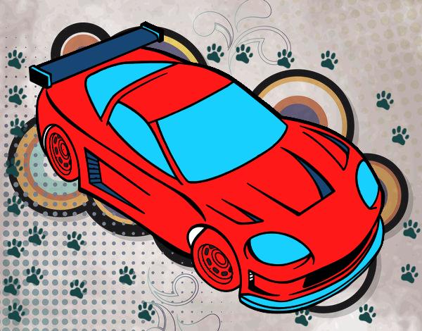 Dibujo De Super Carro Pintado Por En Dibujos.net El Día