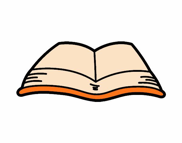 Dibujo De Un Libro Abierto Pintado Por Blanca En Dibujos Net El Dia  A Las