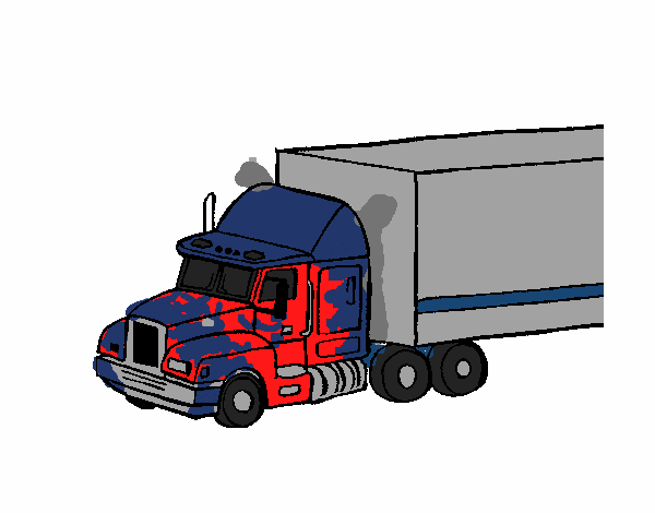 Dibujo De Optimus Prime Pintado Por En Dibujos Net El D 237 A