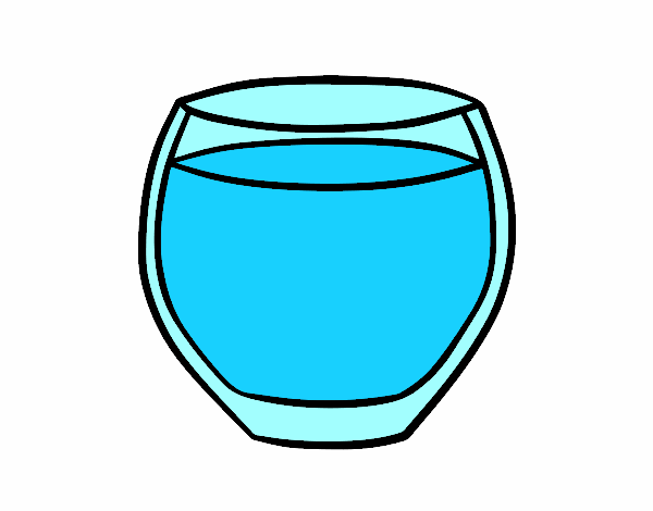 Dibujo De Vaso De Agua Pintado Por En Dibujos.net El Día