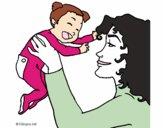 Madre con su bebe 1