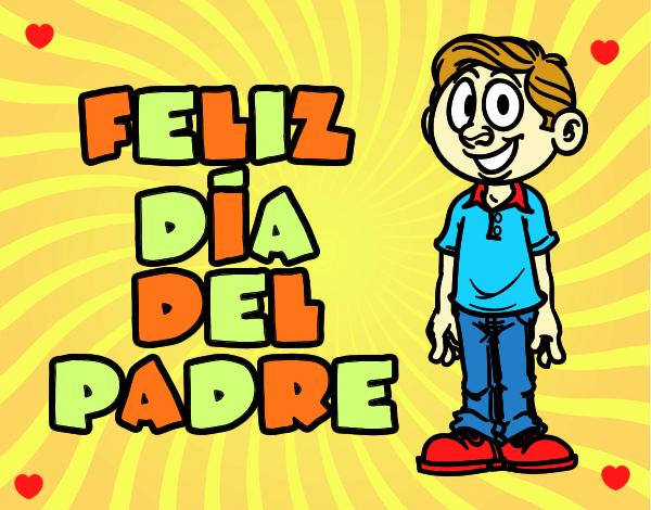 54 Tarjetas De Felíz Cumpleaños Para Pintar Y Regalar: Dibujos Para Colorear De Feliz Dia Del Padre
