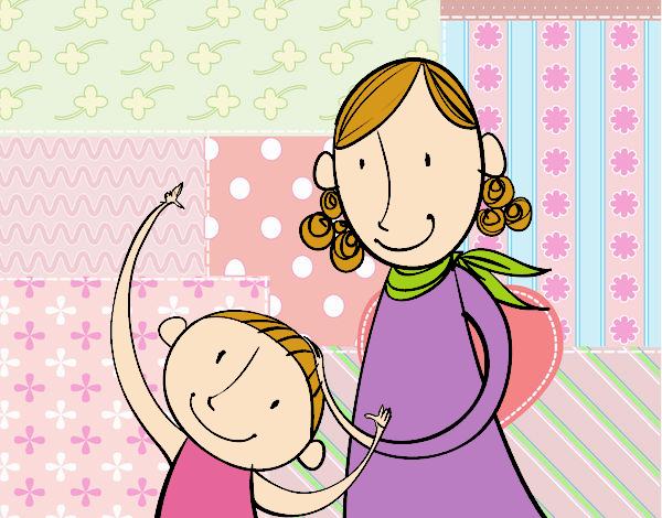 madres acariciando