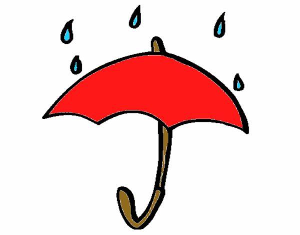 Dibujos De Paraguas Para Colorear E Imprimir: Dibujo De Paraguas Pintado Por En Dibujos.net El Día 12-06