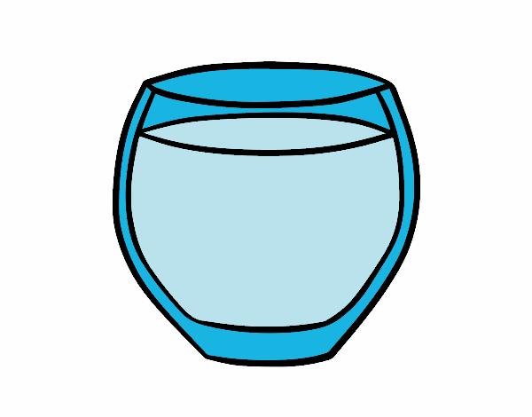 Dibujo de Vaso de agua pintado por Ismargilpe en Dibujosnet el