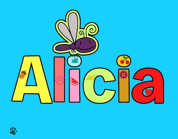 Dibujos Para Colorear Alicia 16: Dibujo De Alicia Pintado Por En Dibujos.net El Día 23-06
