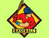 Dibujo Logo de béisbol pintado por jesus45616
