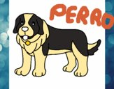 Dibujo Perro pigmento pintado por Mat1as