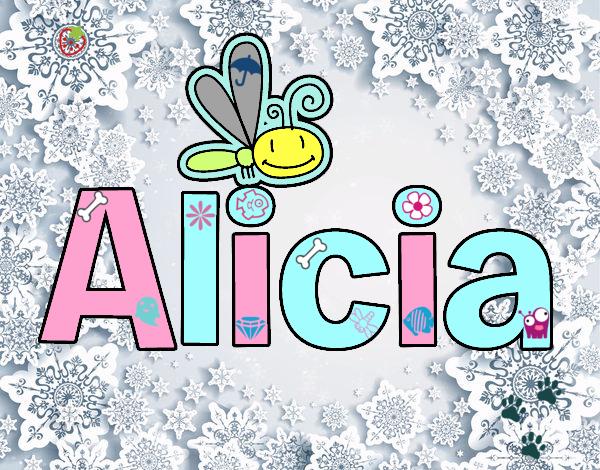 Dibujos Para Colorear Alicia 16: Dibujo De Alicia Pintado Por En Dibujos.net El Día 27-06